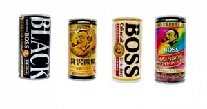 c272d180967a Details about Japanese Canned Coffee Boss Black Rich Less sugar Cafe au  lait Rainbow Mountain