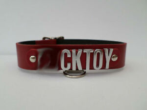 lockable-real-leather-collar-fetish-bondage-18mm-chrome-letters-fkt
