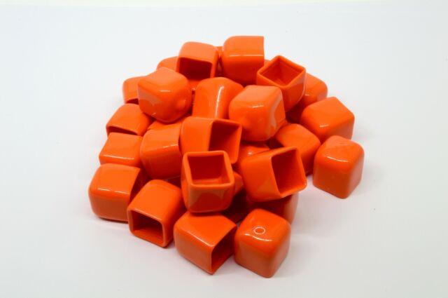 "3//4/"" Height 100 Push-On Pliable Vinyl Caps Plastic tips-End Caps 1//4/"""