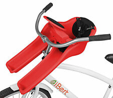 Ibert Front Mount Bicycle Baby Seat Steering Wheel Bike Child Carrier Red New!