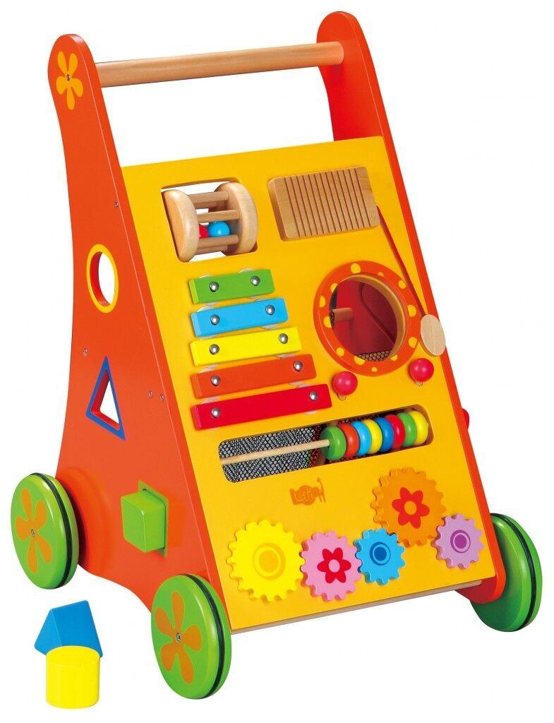 Baby Walker Lelin Toys Lauflernwagen Motorik Motorikschleife Xylophon Laufhilfe