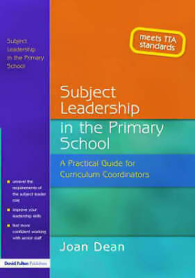 1 of 1 - Subject Leadership in the Primary School: A Practical Guide for Curriculum Coord
