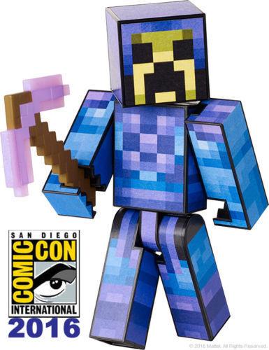SDCC 2016 Mattel Minecraft Survival Mode Player 1 Exclusive SDCC Skeletor skin