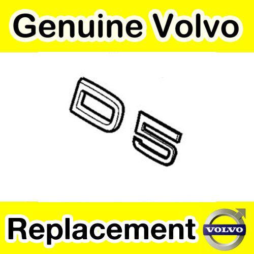 GENUINE Volvo D5 Hayon//coffre emblème modèles jusqu /'à 2010