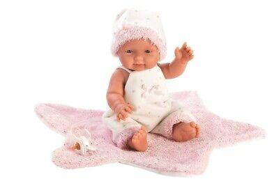 Amabile Llorens New Born Bambola-bebita Stern-rosa 26cm- Delizioso Nel Gusto