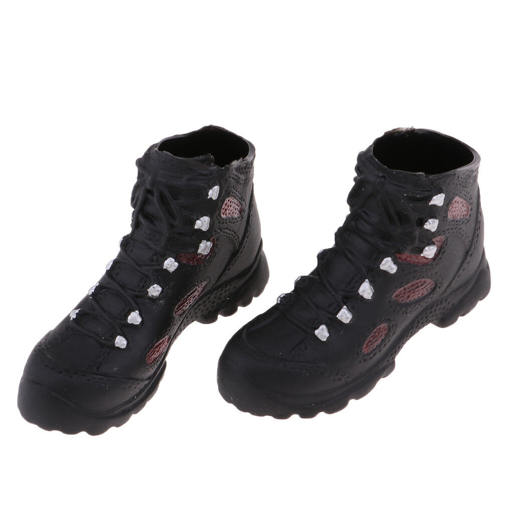 1 6 Scale Man Fashion Ankle Stiefel 12'' Hiking Schuhes for 12'' Stiefel Phicen Kumik Doll b68d74