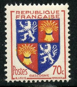 STAMP-TIMBRE-FRANCE-NEUF-N-958-BLASON-GASCOGNE