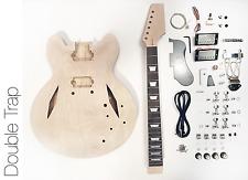NEW DIY Electric Guitar Kit – Semi Hollow Diamond Build Your Own Guitar Kit
