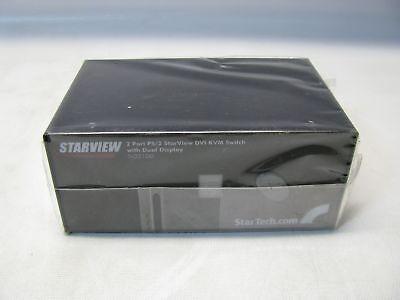 Bereidwillig Starview Sv221dd 2 Port Dvi Kvm Switch