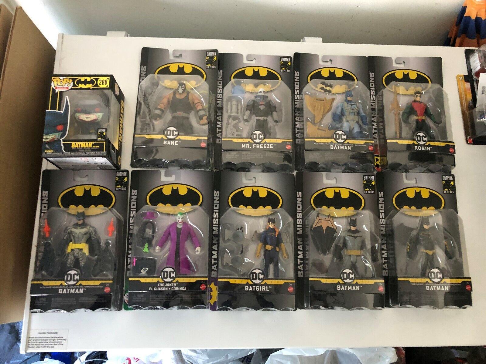 Mattel DC misiones de Batman Robin, Mr. Freeze, Puente De La Noche Batman, Arctic Armor