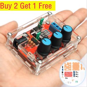 XR2206 Function Signal Generator Sine Output 1HZ-1MHZ Case DIY