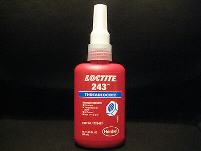 Tireless One New Factory Sealed Loctite 243 Threadlocker Exp Msrp 40 $$$ Large Assortment Date 09/19