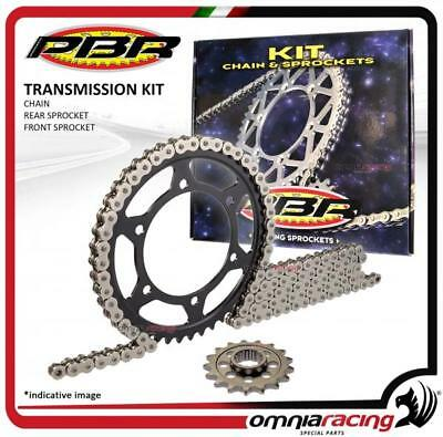 100% Vero Kit Trasmissione Catena Corona Pignone Pbr Ek Yamaha Yz450f 2003>2004