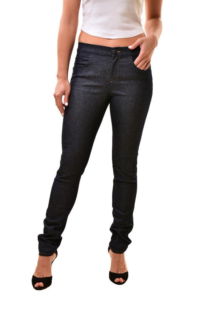 J BRAND Womens Casual JB000245 Slim Basic Trousers bluee Size 26 RRP  188 BCF811