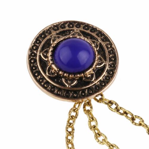 Mauvais oeil//Pearl//glands Collier Clip Broche Chaîne Porte-Pull Châle Cadeau