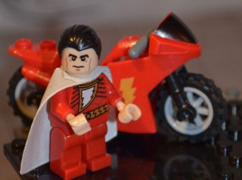 DC Super heroes SHAZAM W//t motorcycle figure US Seller JLA