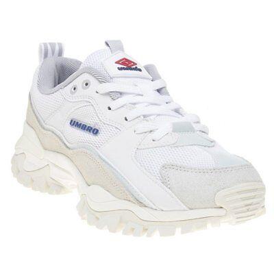 umbro white bumpy trainers