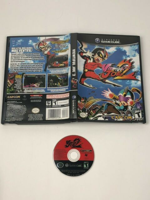 Viewtiful Joe 2 for Nintendo GameCube w/ Game Disc & Case / Tested