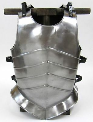 Gothic Breast Plate Armor ~ Medieval Knight Crusader Spartan ~ Steel Armer