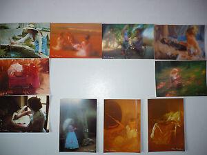 Lot 10 Cartes Postales CHRIS NIKOLSON Postcards - France - Thme: Illustrateur Caractéristiques: Non voyagées, Couleur Type: Carte postale Qualité: Superbe Origine: France Période: Années 1980 - France