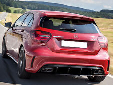 Mercedes A45 AMG Rear Diffuser Sport Edition Mercedes W176 A Class FACELIFT