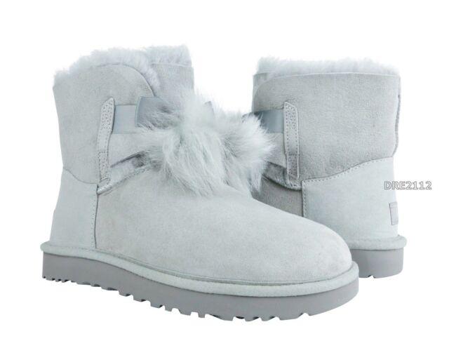 2f664e2c69c UGG Womens BOOTS Gita Grey Violet Size 10