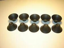 10 Vintage Speaker Whizzer Cones - Speaker Repair Parts - #1 -- CS