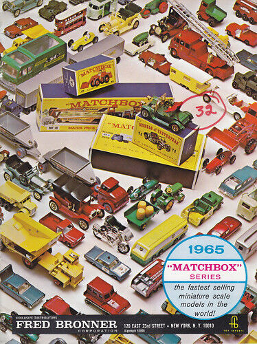 Matchbox   Frot Bronner Händlerkatalog USA USA USA 1965  | Schönes Design  9098bb