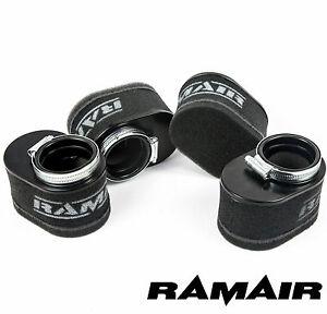 4X-Ramair-Espuma-Moto-Base-Filtro-de-aire-Kit-para-YAMAHA-55mm-ID-Barra