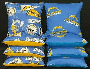 Chargers Corn hole Bags