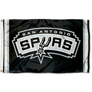 NBA San Antonio Spurs Large Outdoor 3x5 Banner Flag