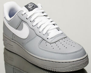 Nike Air Force 1 07 Baja Af1 Hombres Gris Lifestyle Zapatillas New Wolf Gris Hombres c6eeee