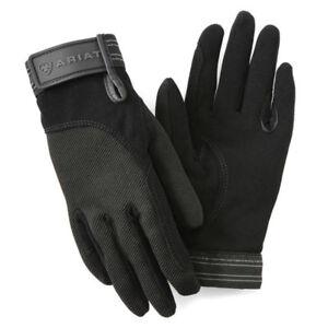 Ariat Tek Grip Gants-noir-différentes Tailles-afficher Le Titre D'origine Apparence éLéGante