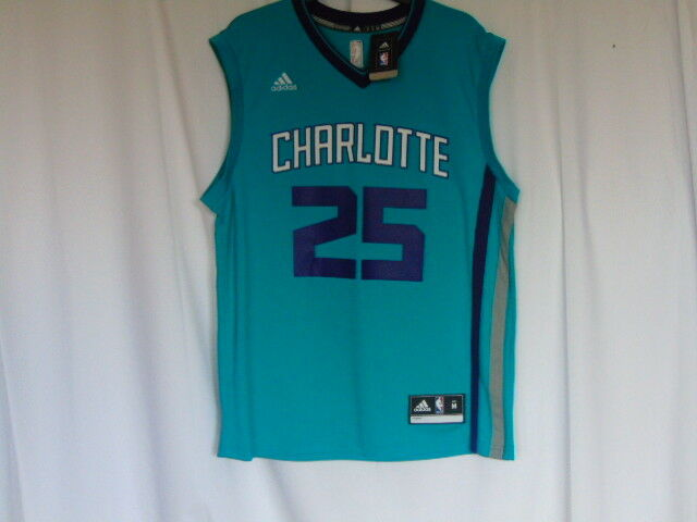 Charlotte Hornets NBA Basketball Jersey - Jefferson Mens Medium - NWT