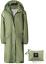 thumbnail 14 - SaphiRose Women's Long Rain Jacket Waterproof Lightweight Hooded Raincoat