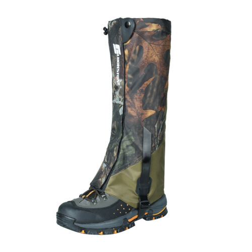 1 Pair Camo Outdoor Hiking Hunting Snow Waterproof Boots Legging Gaiters