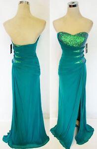 NWT-FAVIANA-358-JADE-Women-Formal-Evening-Prom-Gown-0