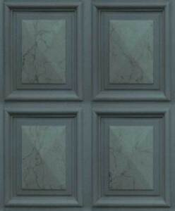Marble Wood Panel Effect Wallpaper Dark Green Paste The Wall Vinyl
