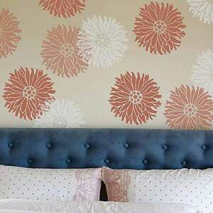 Image Is Loading Starburst Zinnia Wall Art Stencil EXTRA SMALL Reusable