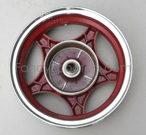 """RED Details about  /Alluminum 10/"""" Rear Rim 2.50 x 10 for 150cc TPGS-811 Gas Scooter PART12M037"""