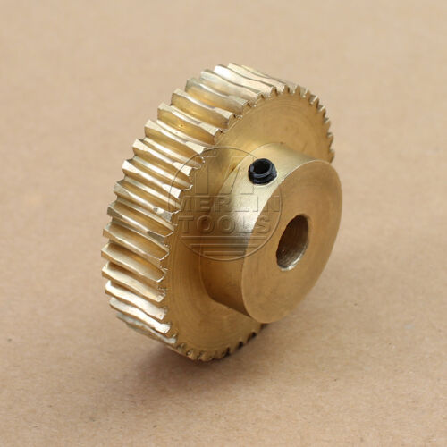1 Modulus 20 to 60 Teeth Worm Gear For Shaft Drive Gearbox etc Select