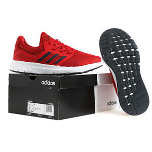 Details about Adidas Galaxy 4 Men's Running Shoes Training Casual Red EG8370