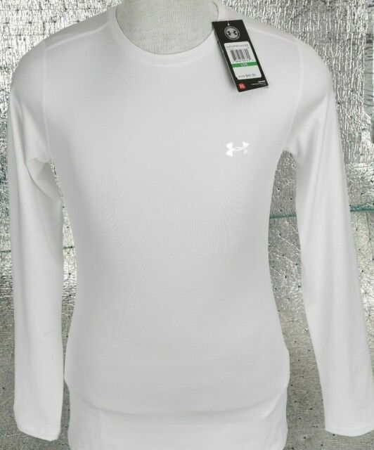 Muchos Adquisición Contracción  NEW Women's Under Armour UA ColdGear Fitted Crew Long Sleeve Baselayer L  1212171 for sale online