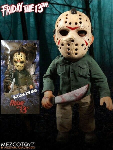 Mezco Friday the 13th 13th 13th Mega Scale Jason Voorhees with Sound 15 Inch Figure New af20b5