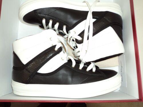 Ferragamo in ZwartWit Salvatore Pixy Maat Italië Sneakers 5 gemaakt Dames Nib Sneakers 9 MVGUqzSp