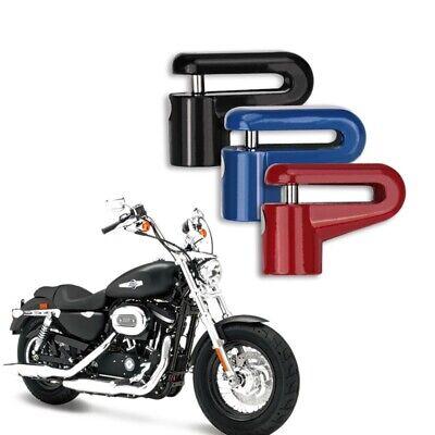 Security Brake Disc Lock Padlock Motorcycle Motorbike Scooter Moped 2 Keys