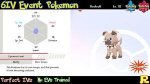 6IV-EVENT-OWN-TEMPO-ROCKRUFF-DUSK-LYCANROC-for-Pokemon-SWORD-amp-SHIELD