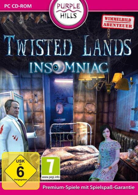 Twisted Lands: Insomniac (PC, 2011, DVD-Box)