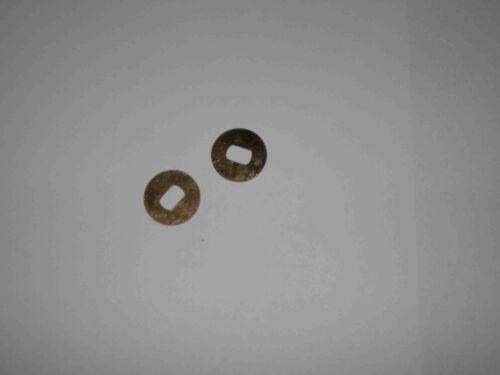 SOLEX  CARBURETORS/'  SHAFT NUT RETAINERS