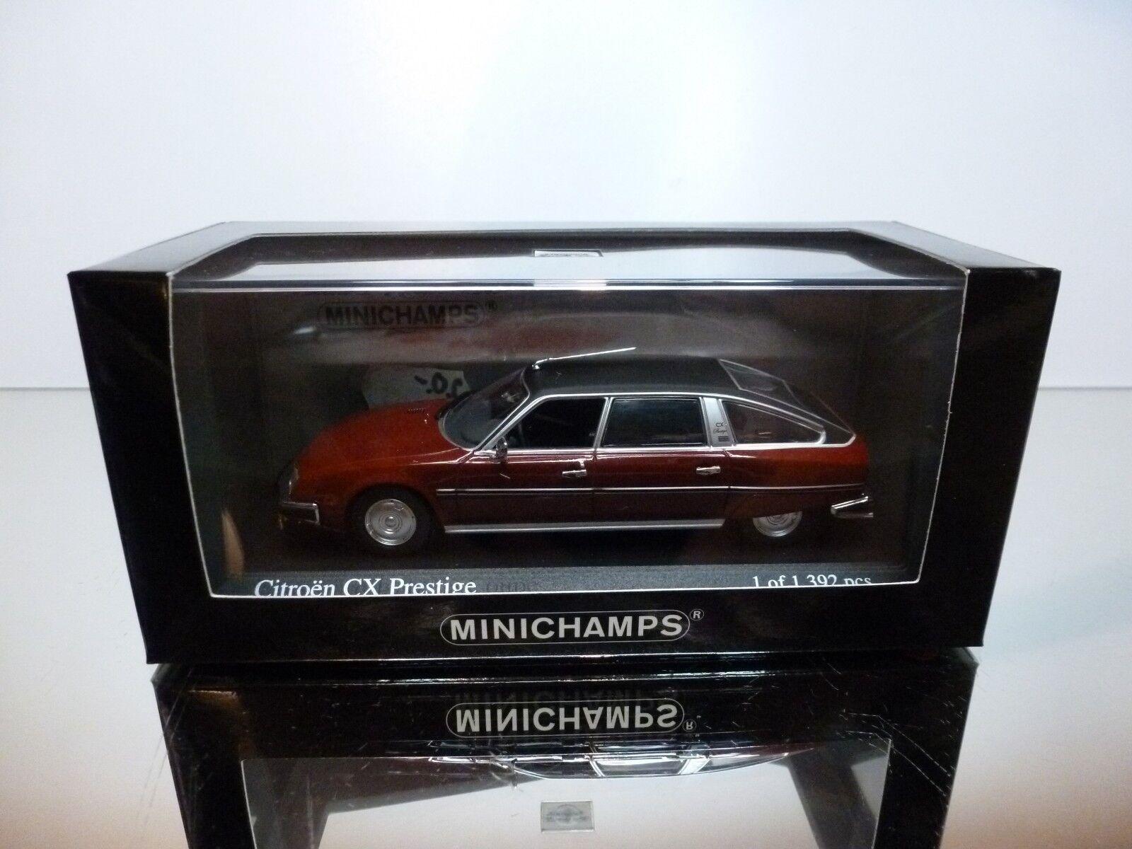 Citroën cx prestige - 1979 minichamps rot metallic 1 43 ausgezeichnet im kasten